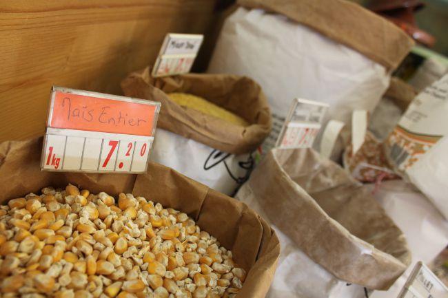 Corn in a bag