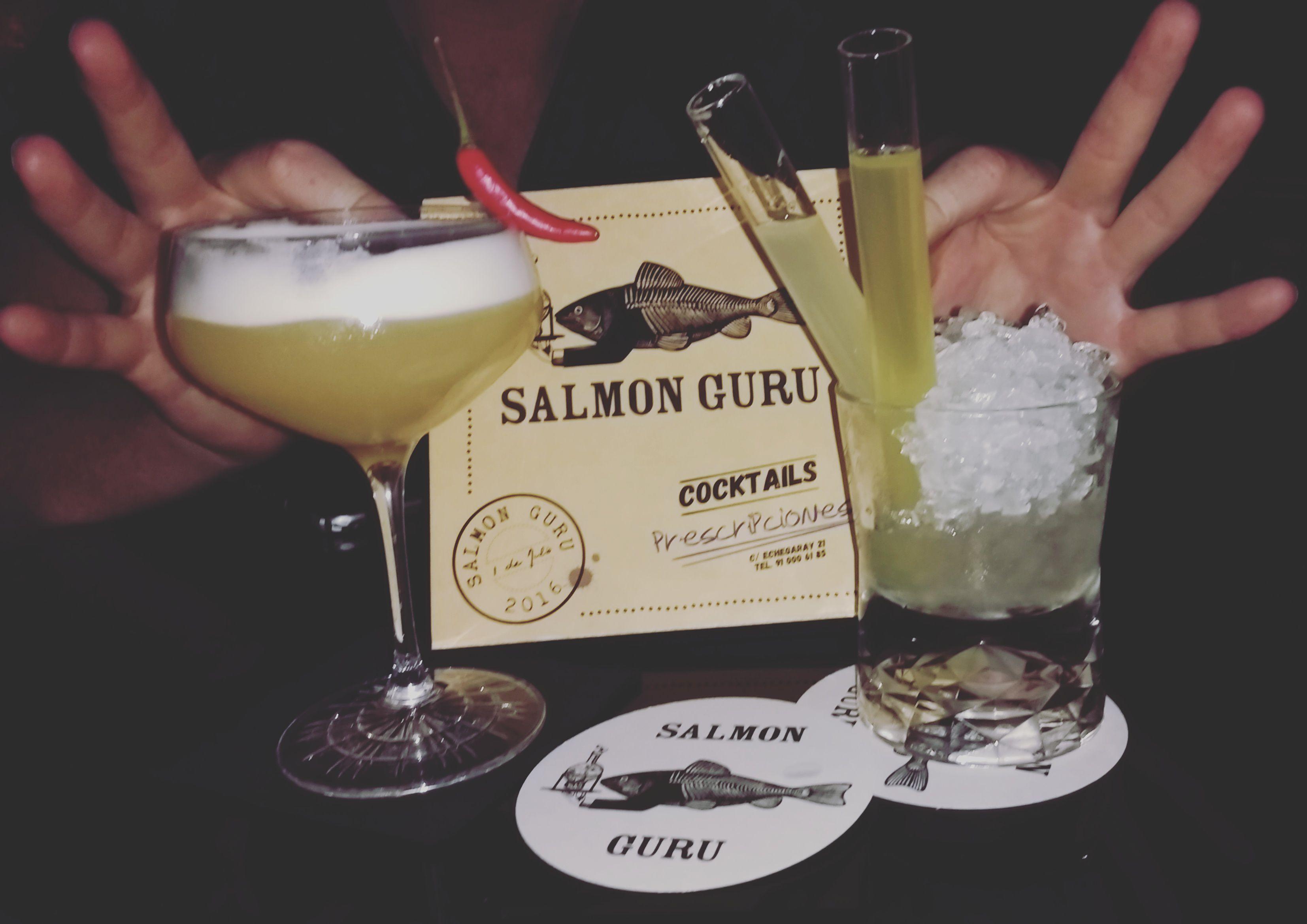 Salmon Guru's Original Cocktails