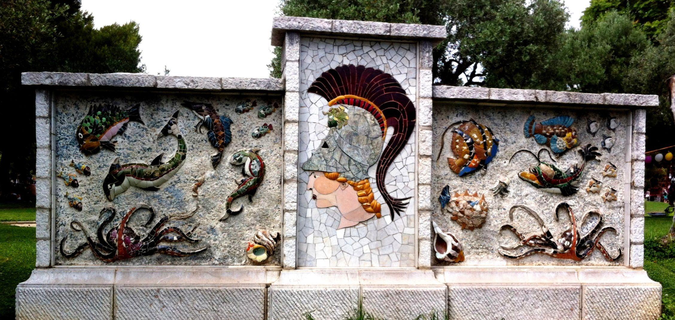 Mosaics on Hill, Nice France