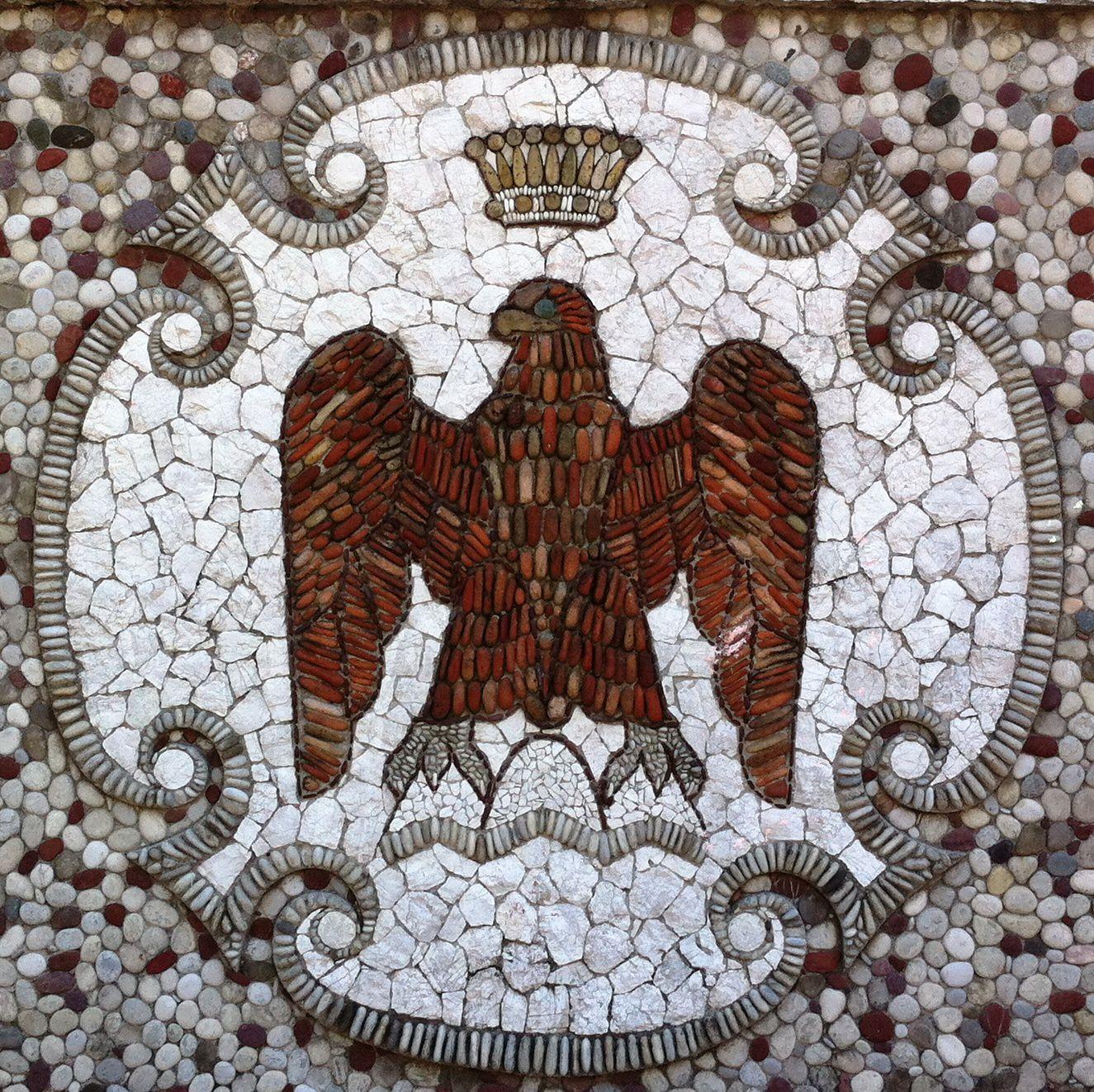 Niçois Eagle, Garden Albert I, Nice France