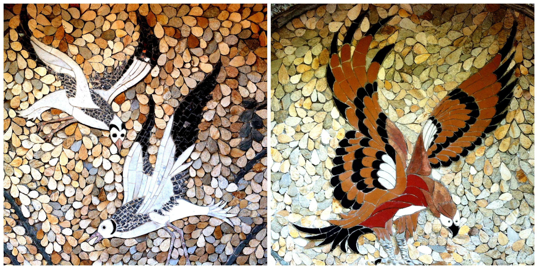 Mosaics on the Hill, Nice France