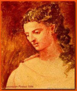 Picasso Portrait de Sarah Murphy