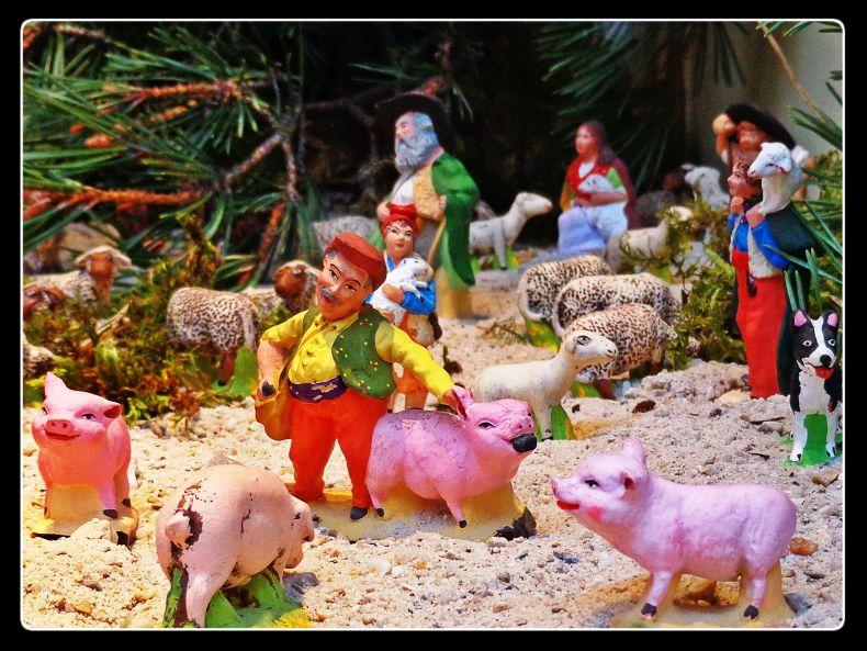 santon pigs