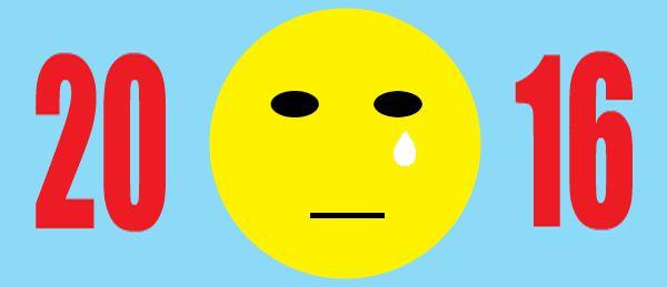 2016 sad face emoji