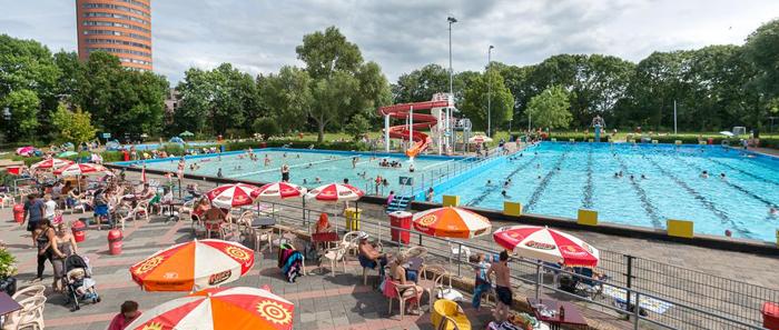 De Vliet outdoor pool Leiden