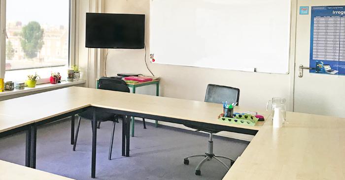 Taal Taal classroom in The Hague Scheveningen