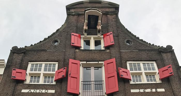 historical building in Dordrecht