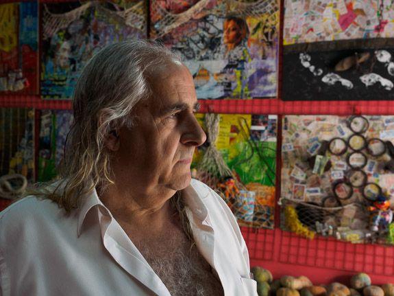 A local artist of a colourful reputation