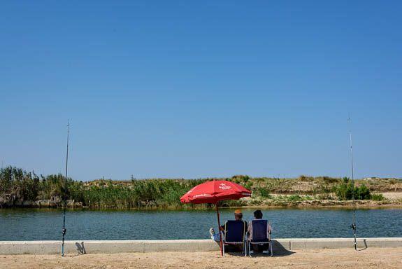 Fishing in La Albufera