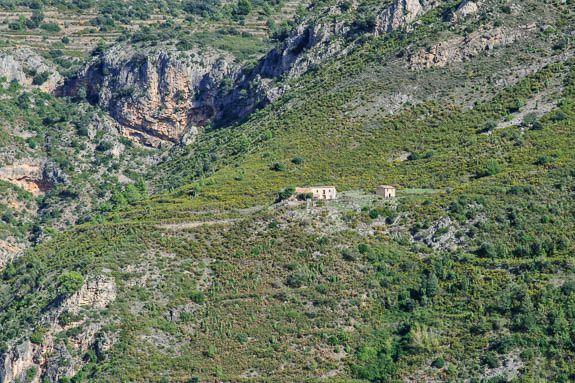 a remote finca typical of El Maestrat