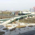 Wilhelmsburg Urban Railway Station and Pedestrian Bridge