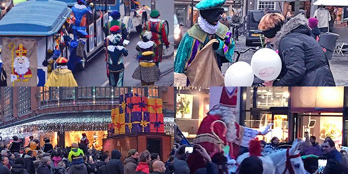 Dutch Sinterklaas welcome parade