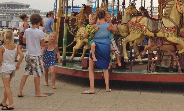 carousel in Scheveningen