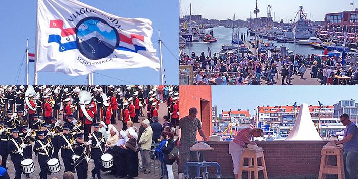 Herring Flag Day festival Scheveningen