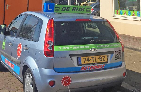 De Rijk driving school in The Hague