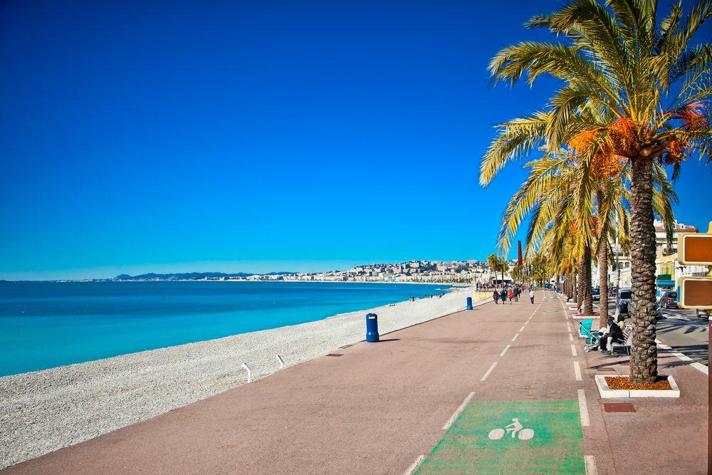 Promenade in Cagnes sur Mer