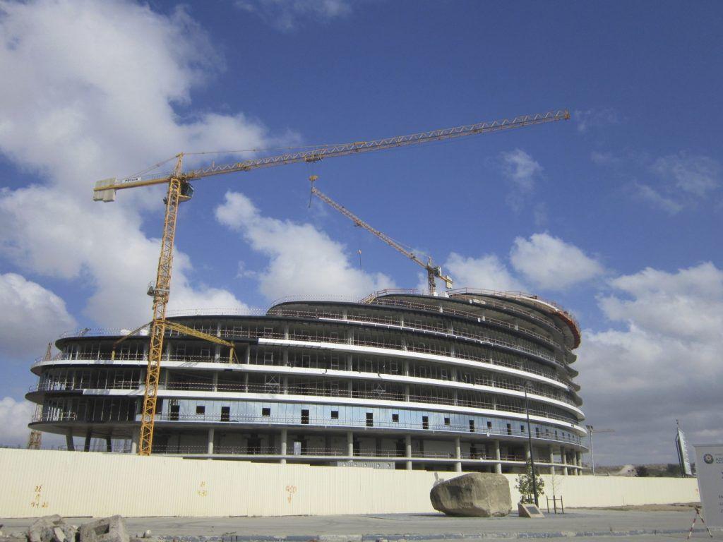 Baku construction