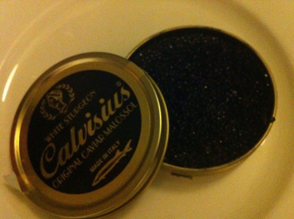 Pot of Dick's caviar