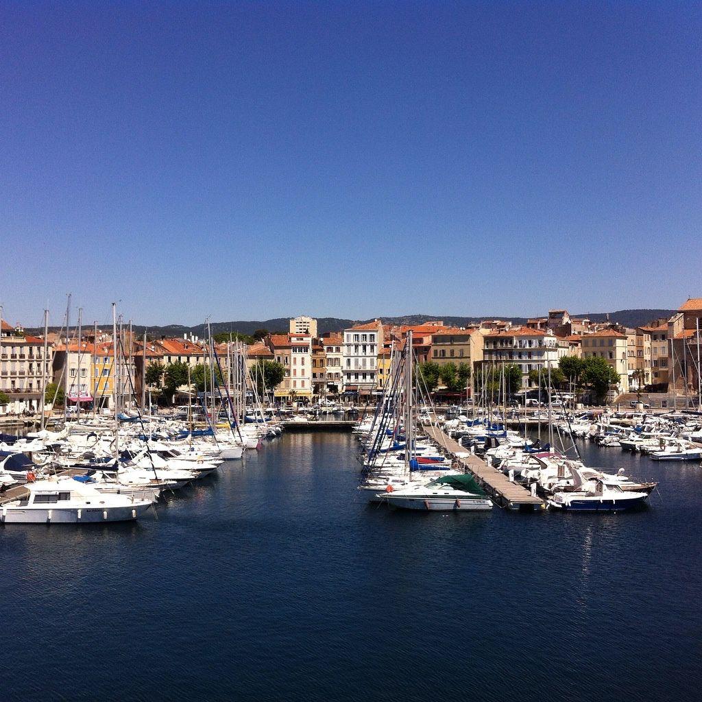 La Ciotat, on the Mediterranean coast