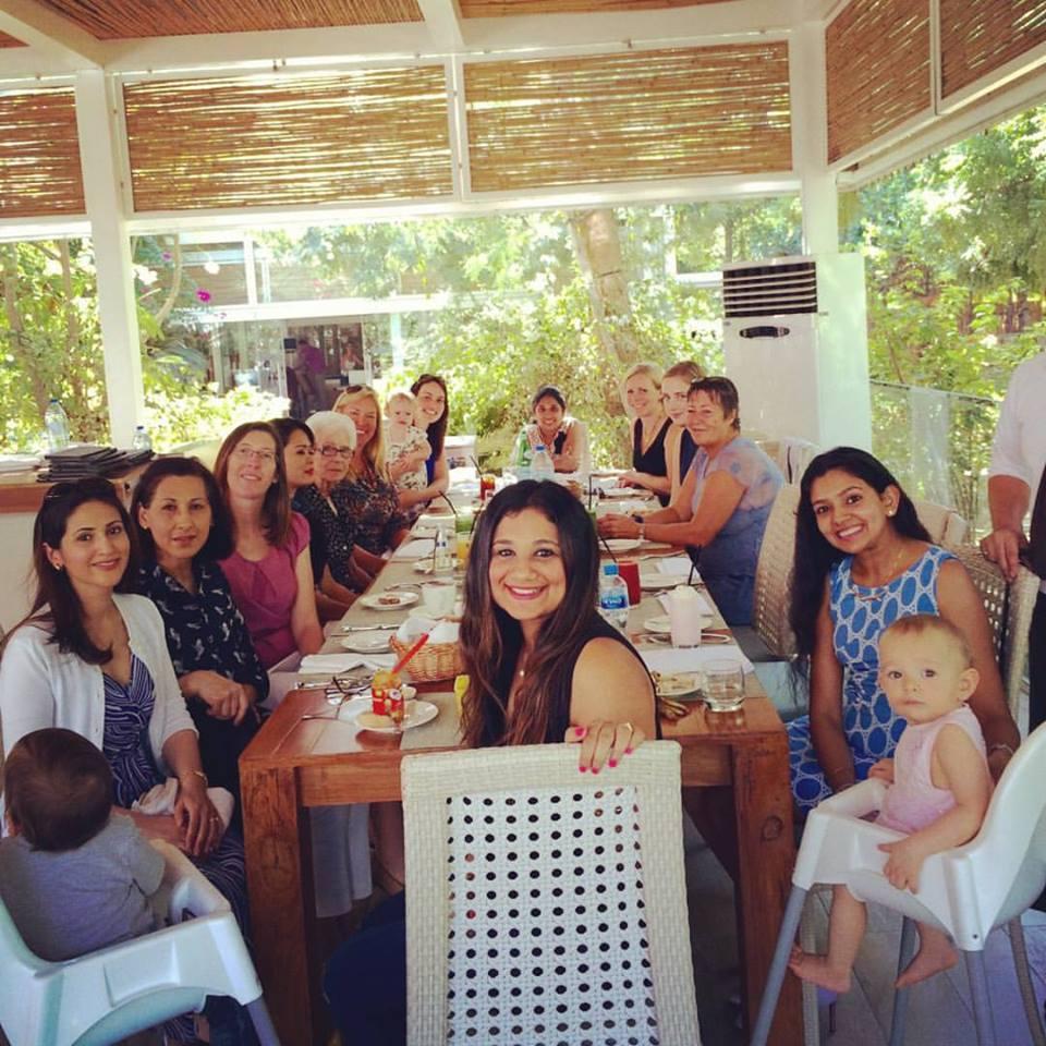 Family photo in Dubai