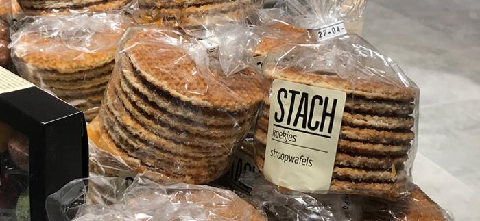 Dutch stroopwafel cookies