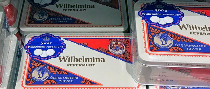 Dutch Wilhelmina brand peppermints