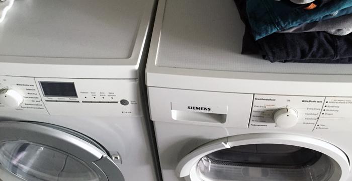 Dutch washer dryer in Holland