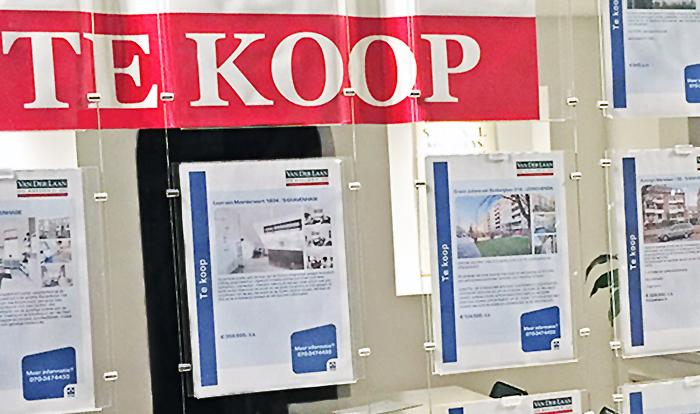 real estate makelaar office in Holland
