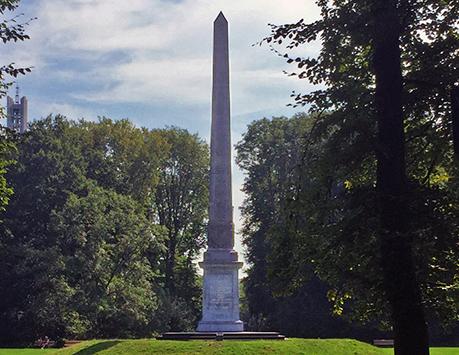 The Needle monument in Rijswijk Netherlands