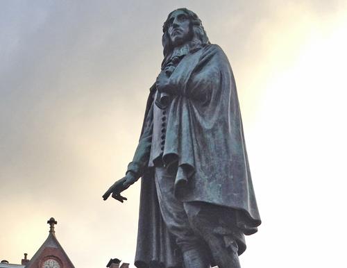 Johan de Witt monument in The Hague