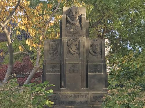 Leiden 1573 seige 1574 liberation monument