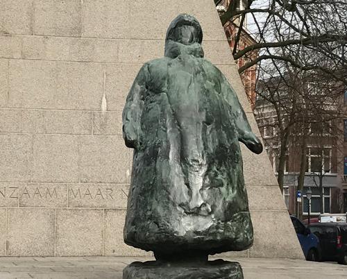 Queen Wilhelmina of Netherlands monument