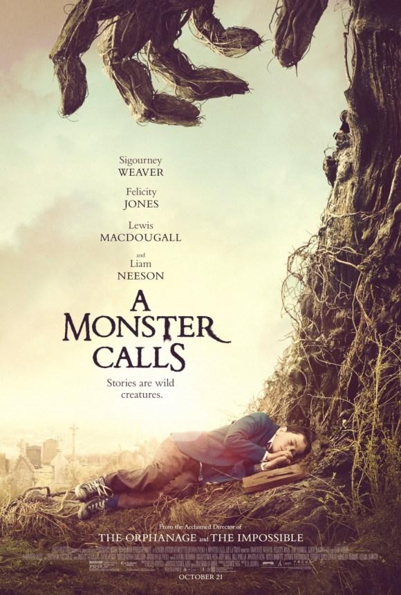 A Monster Calls film poster