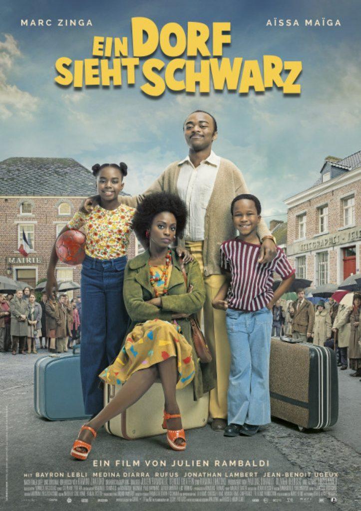 Ein Dorf Sieht Schwarz film poster