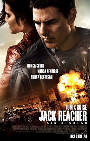Jack Reacher film oster