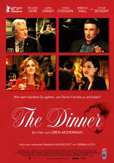 """Film poster for """"The Dinner"""""""