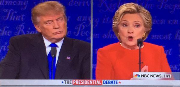 American Presidential debate 2016