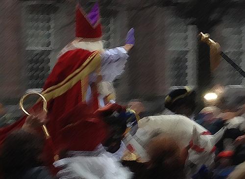 Intocht Sinterklaas parade