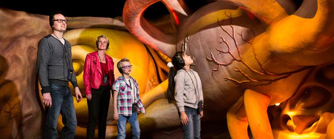 Corpus educational human body attraction for children families in Leiden Den Haag Netherlands
