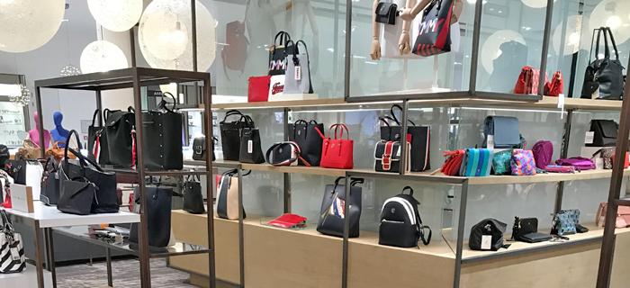 Hudson's Bay store The Hague handbags