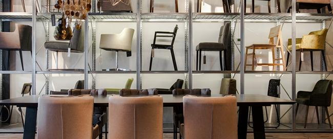 Melchior furniture showroom and home decor shop Den Haag Amstelveen Netherlands