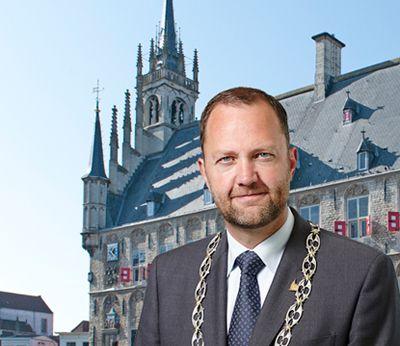 Sinterklaas interview with Gouda mayor