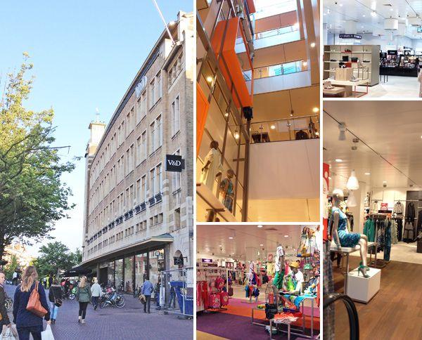 V&D flagship store in Leiden