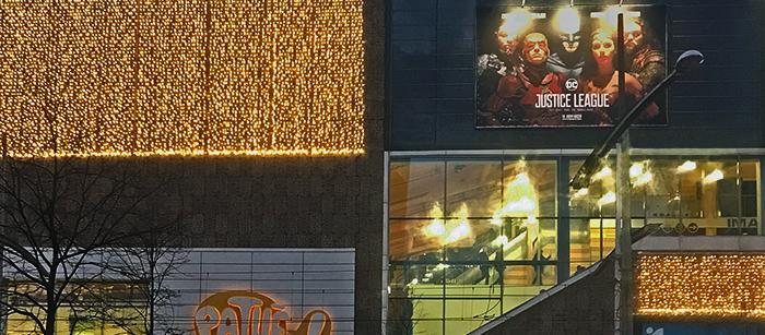 Pathe Spuimarkt cinema Justice League