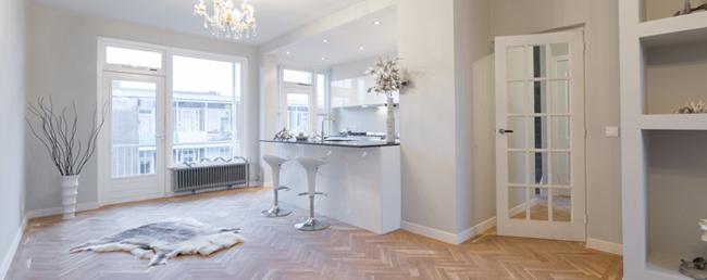 Premium Huis parquet wood floors home renovations replacement windows The Hague Netherlands