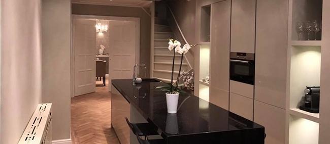 Premium Huis contemporary kitchens bathrooms wood floors windows The Hague Netherlands