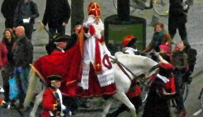Sinterklaas welcome parade in The Hague