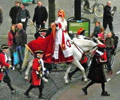 Sinterklaas parade in The Hague 2011