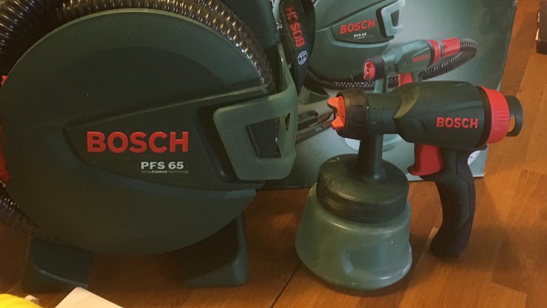 bosch pfs 65 paint spray system home garden classifieds poitou charentes angloinfo. Black Bedroom Furniture Sets. Home Design Ideas