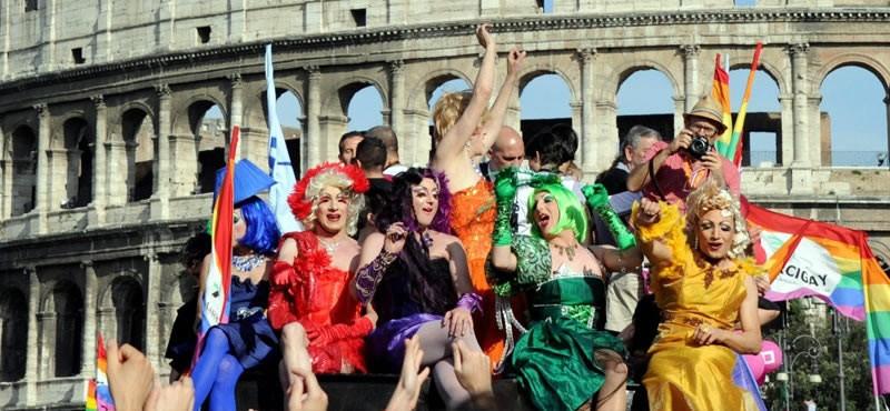 Resultado de imagen de rome pride